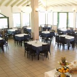 Restaurant at Giannikos Hotel, Halkidiki Greece