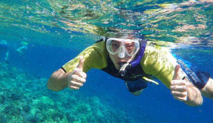 Snorkeling in Kassandra